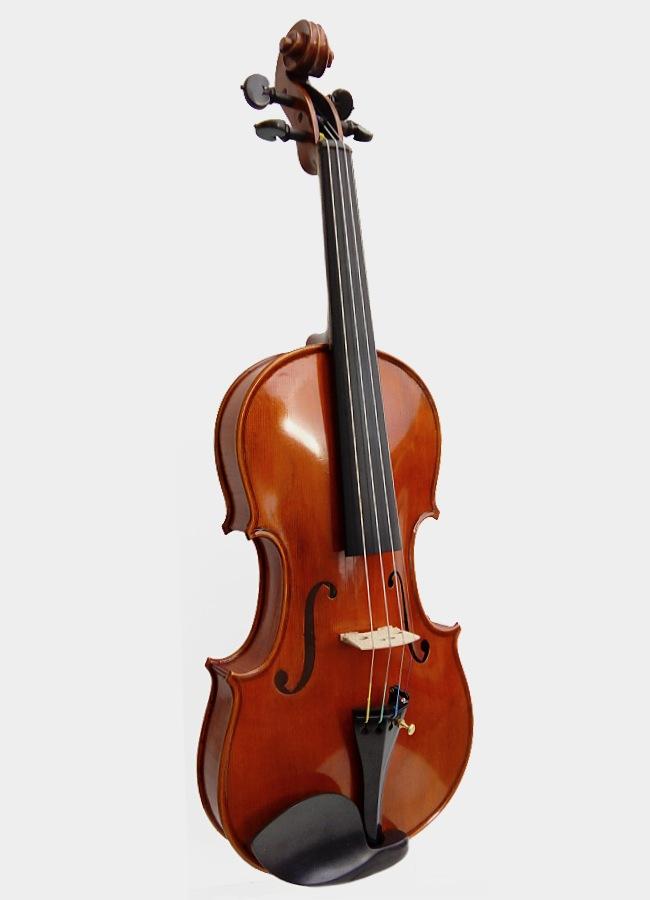 Violon Le Nimbe entier violon rouge acoustique fabriqué main en France acoustique qualité prix